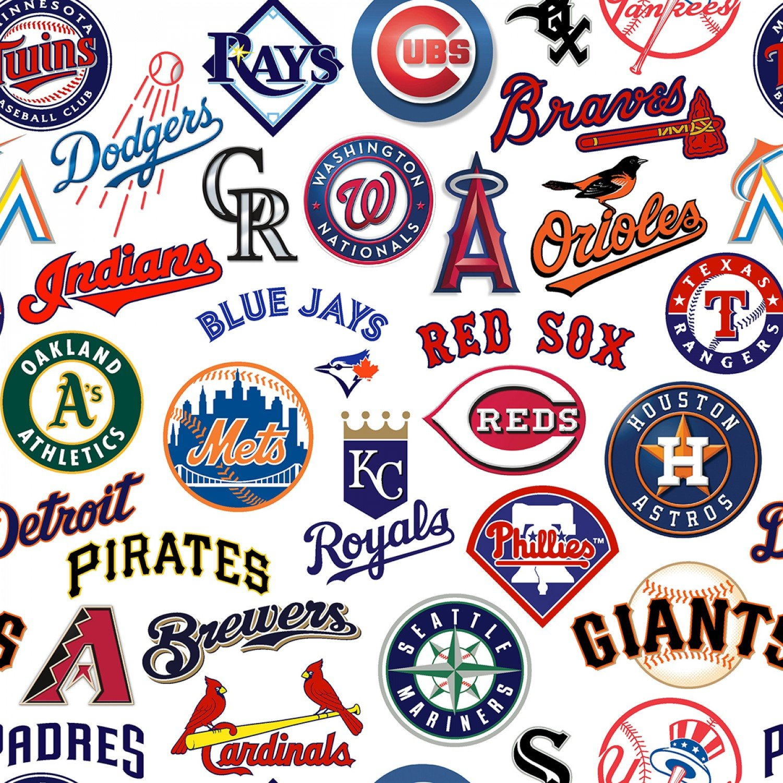 FT-MLB Cotton 60058-B All MLB Teams Digitally Printed