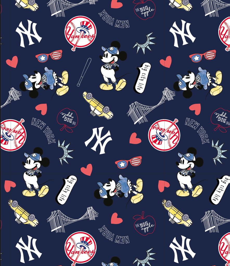 PROMO* FT-MLB Disney Mash-UP 60280-B New York Yankees