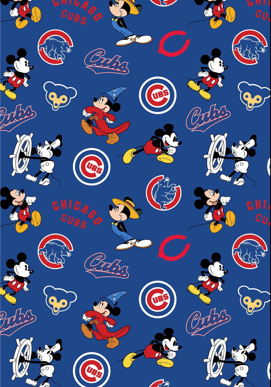 PROMO* FT-MLB Disney Mash-UP 60282-B Chicago Cubs