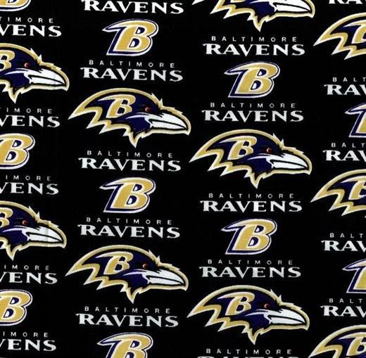 FT-NFL Cotton 6041 D Baltimore Ravens
