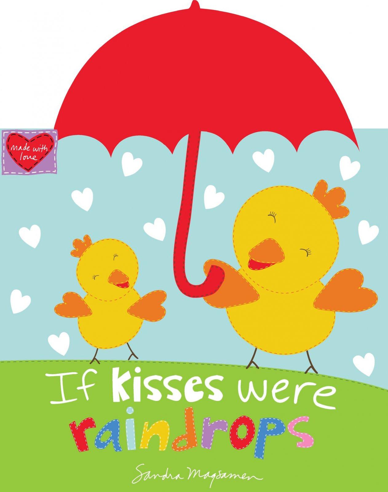 SE-Huggable & Loveable Books XI 6085P-1 Multi - Kisses Were Raindrops 36 Soft Book Panel