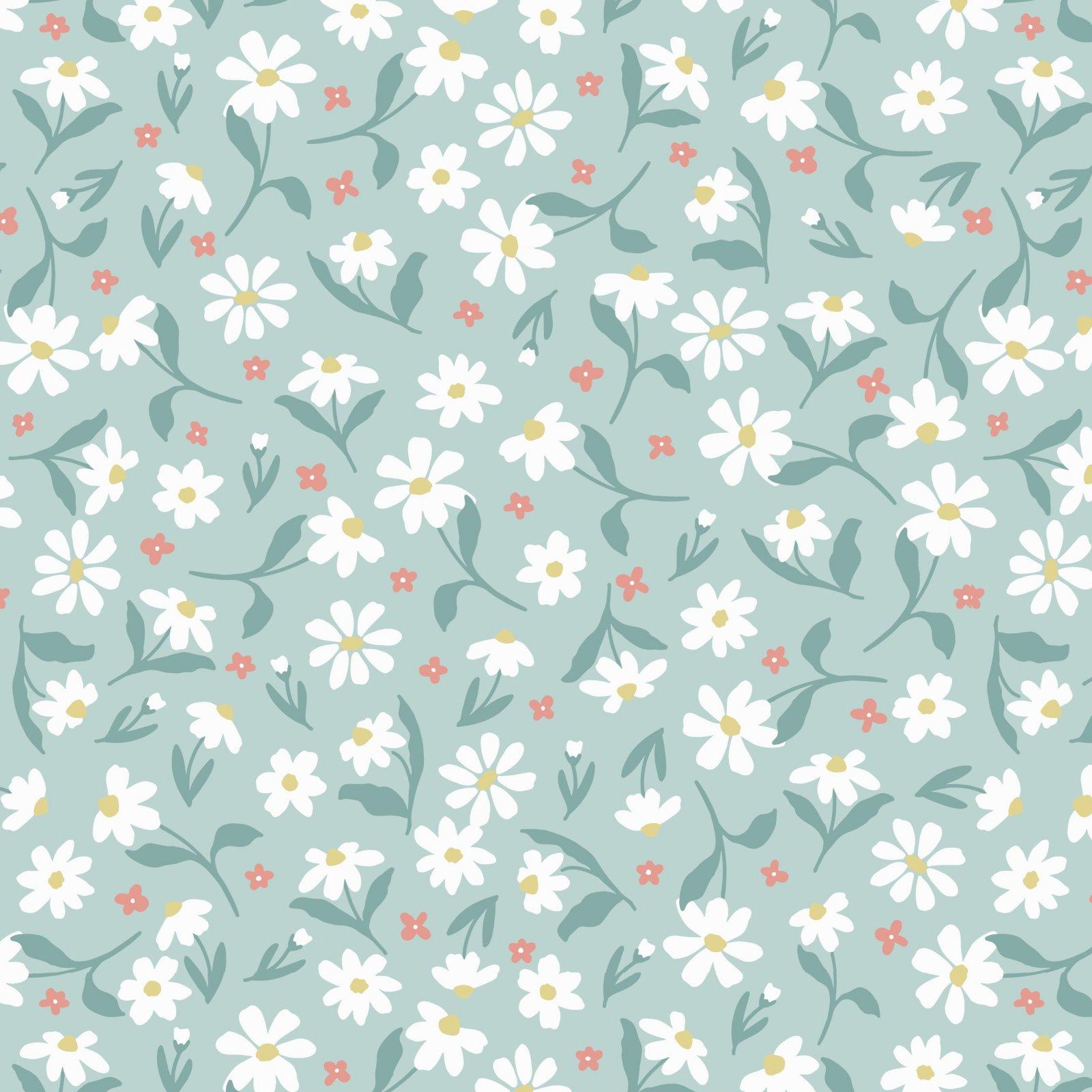 SE-Blossom & Grow 6099-11 Aqua - Daisy Toss