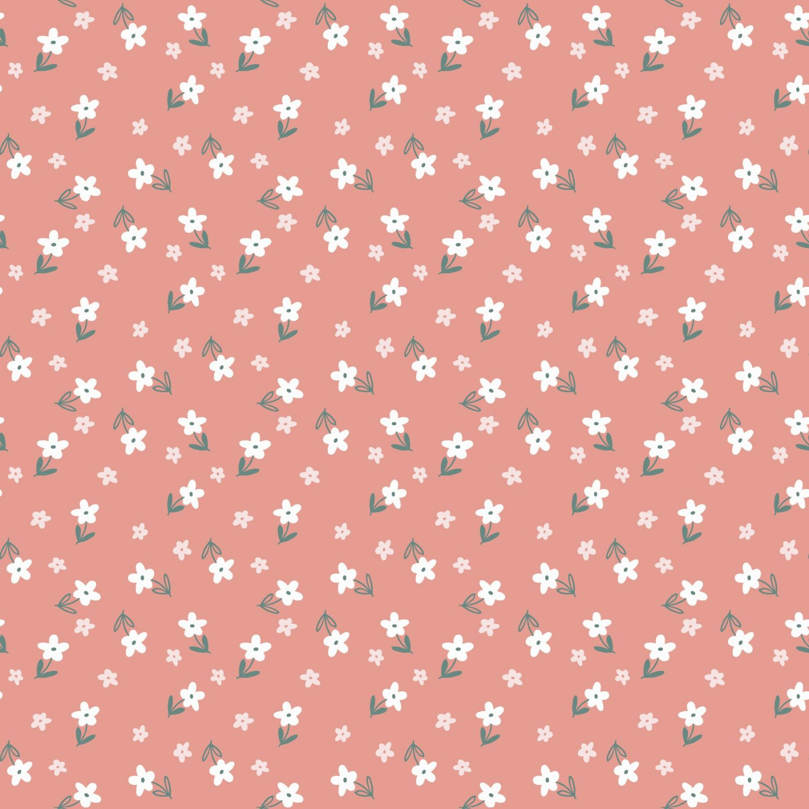 SE-Blossom & Grow 6100-22 Pink - Tiny Floral Toss