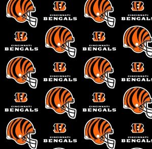 FT-NFL Cotton 6229 D Cincinnati Bengals