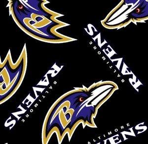 FT-NFL Fleece 6231-D Baltimore Ravens