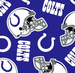 FT-NFL Fleece 6233-D Indianapolis Colts