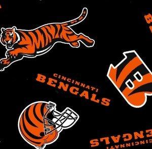 FT-NFL Fleece 6240-D Cincinnati Bengals
