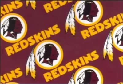 FT-NFL Fleece 6266-D Washington Redskins
