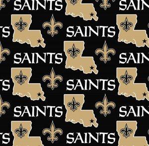 FT-NFL Fleece 6267-D New Orleans Saints