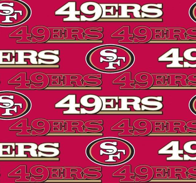 FT-NFL Fleece 6270-D San Francisco 49ers