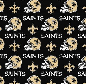 FT-NFL Cotton 6283 D New Orleans Saints