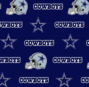 FT-NFL Cotton 6313-D Dallas Cowboys