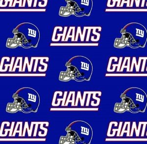 FT-NFL Cotton 6314 D New York Giants