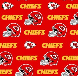 FT-NFL Cotton 6315 D Kansas City Chiefs