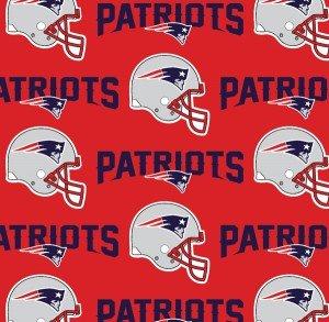 FT-NFL Cotton 6467 D NE Patriots
