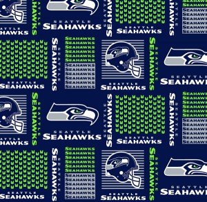 FT-NFL Cotton 6470 D Seattle Seahawks