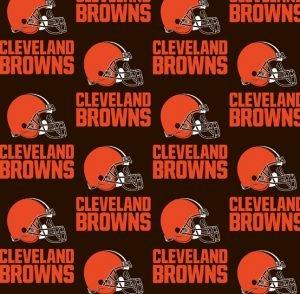 FT-NFL Cotton 6735 D Cleveland Browns