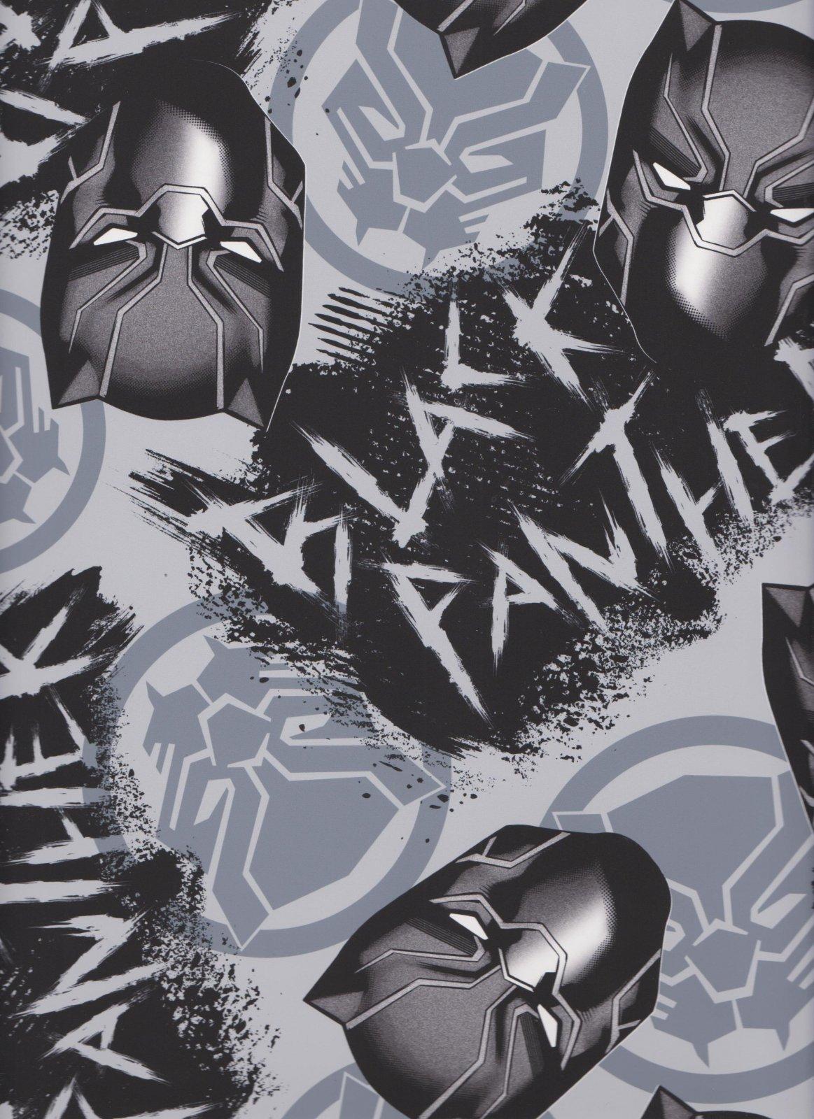PROMO* SC-Licensed Fleece 67556-651018 Black Panther