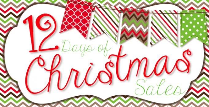 12 Days of Christmas Sale!