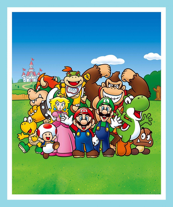 SC-Super Mario Retro 68372 Mario and Friends Panel