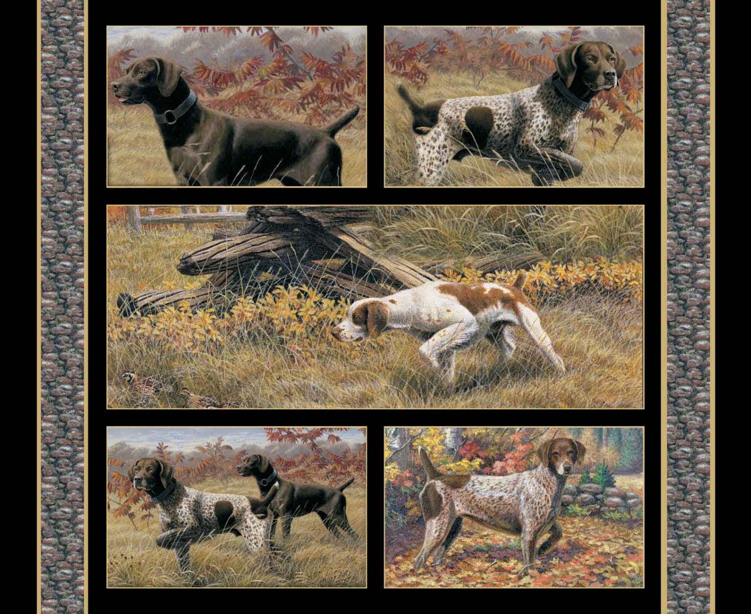 SC-Wild Wings Show Dogs 68446 Wallhanging