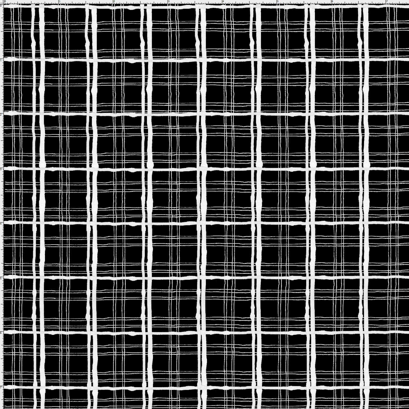 LD-Sophistiplaid Black/White 691-894