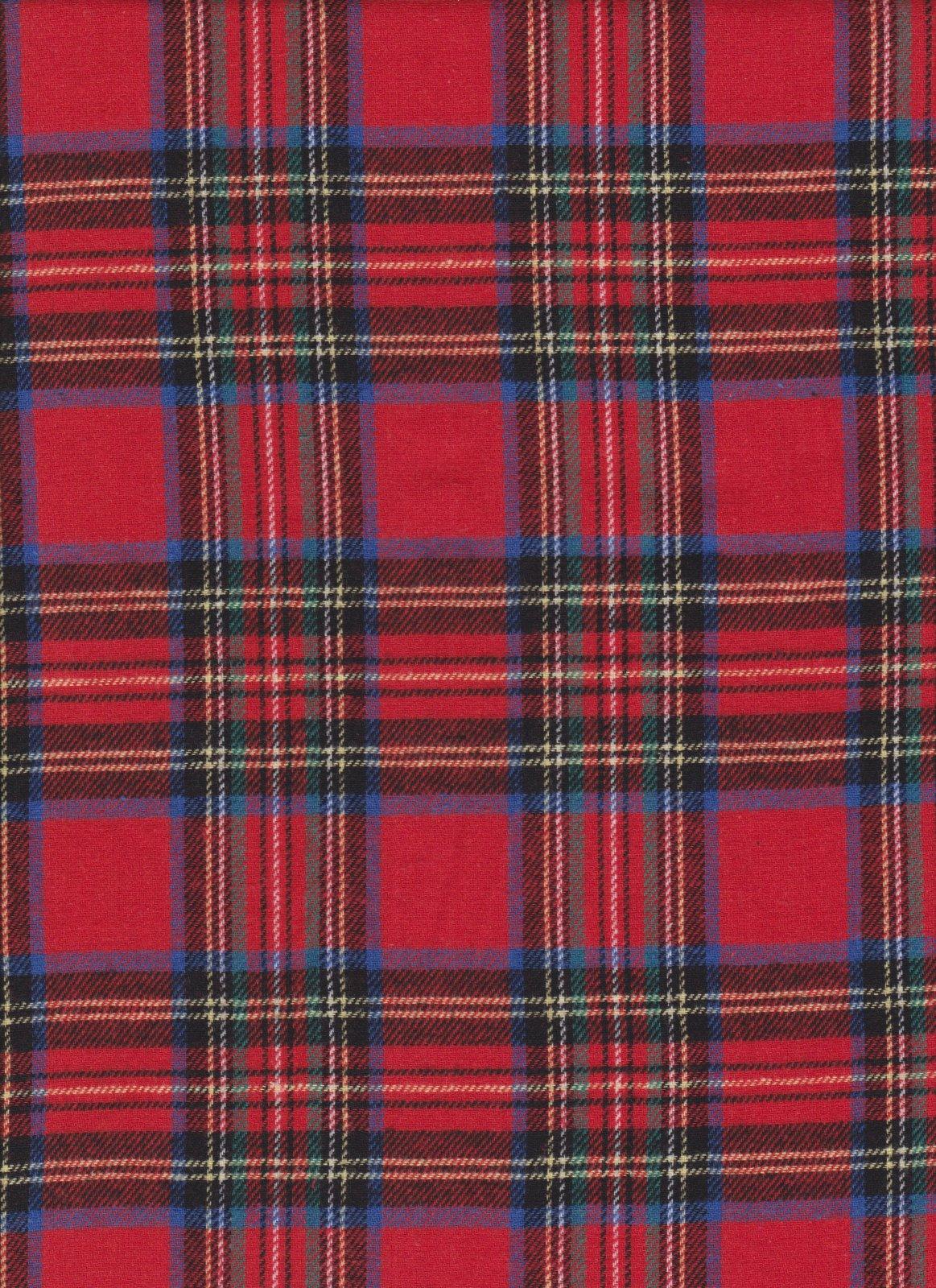PROMO* Yarn Dyed Flannel Plaid - 6954 Royal Stewart
