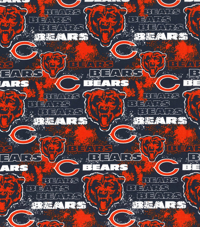 FT-NFL Cotton 70236-D Chicago Bears