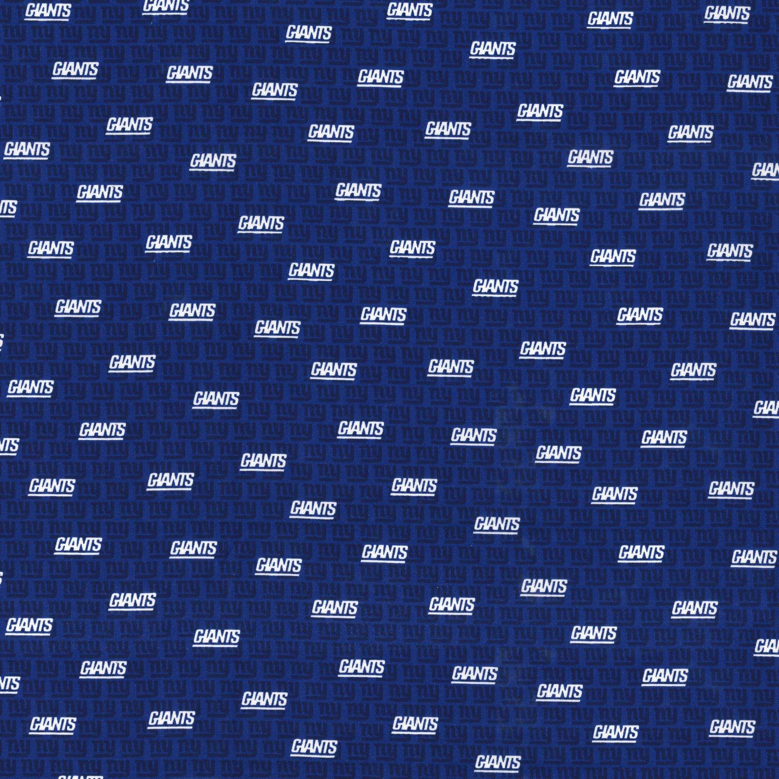 FT-NFL Cotton 70327-D New Yok Giants