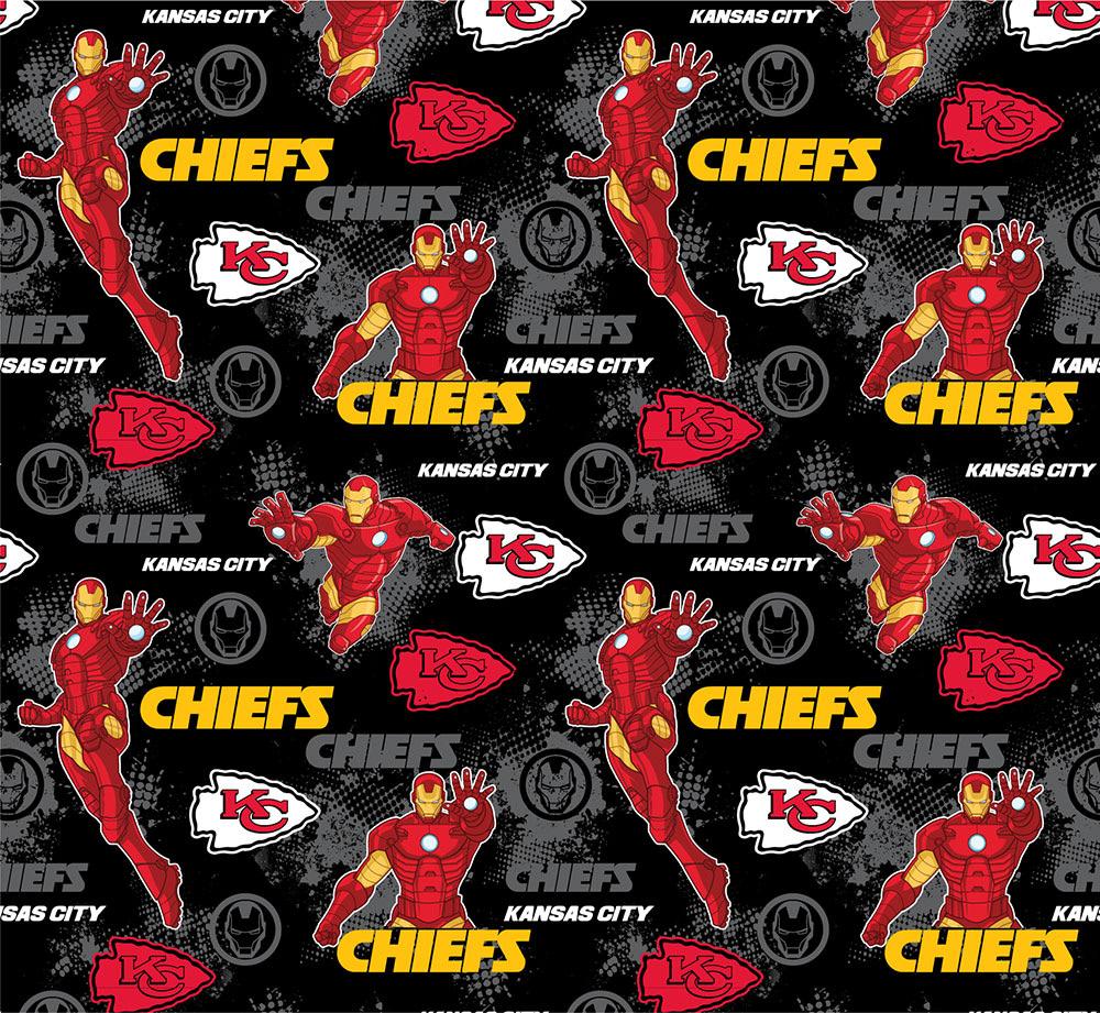 FT-NFL Marvel Mash-Up 70397-D Chiefs/Iron Man