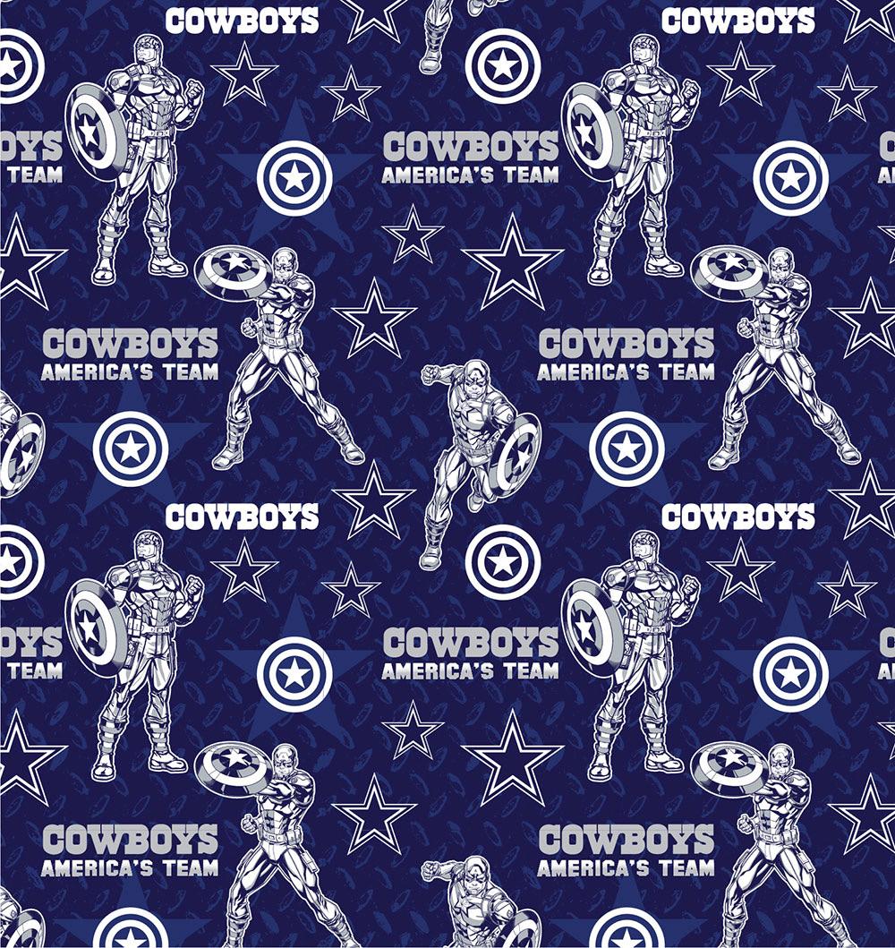 FT-NFL Marvel Mash-Up 70399-D Cowboys/Captain America