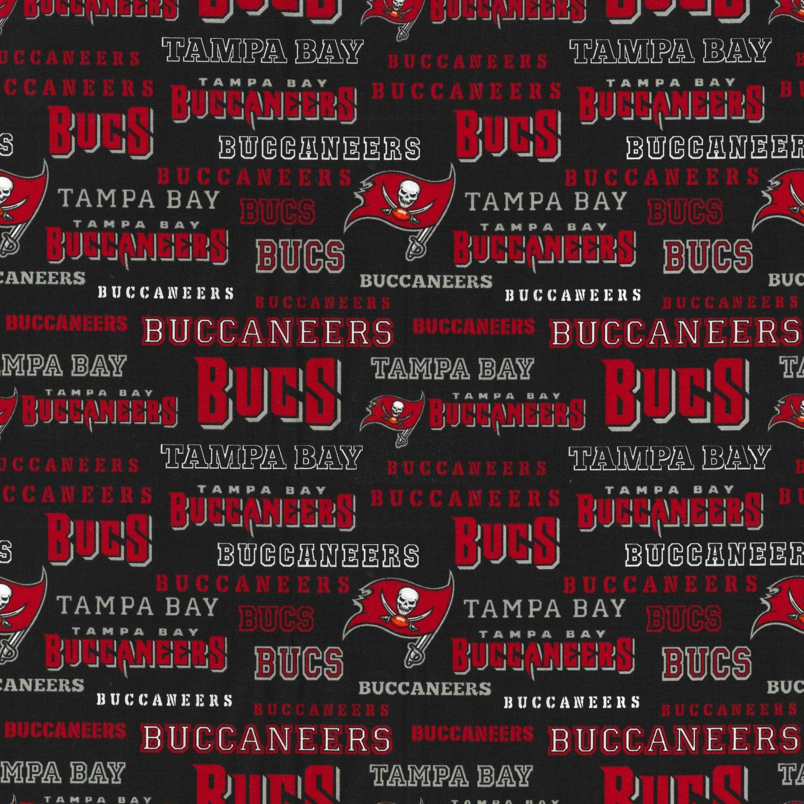 FT-NFL Cotton 70456-D Tampa Bay Buccaneers