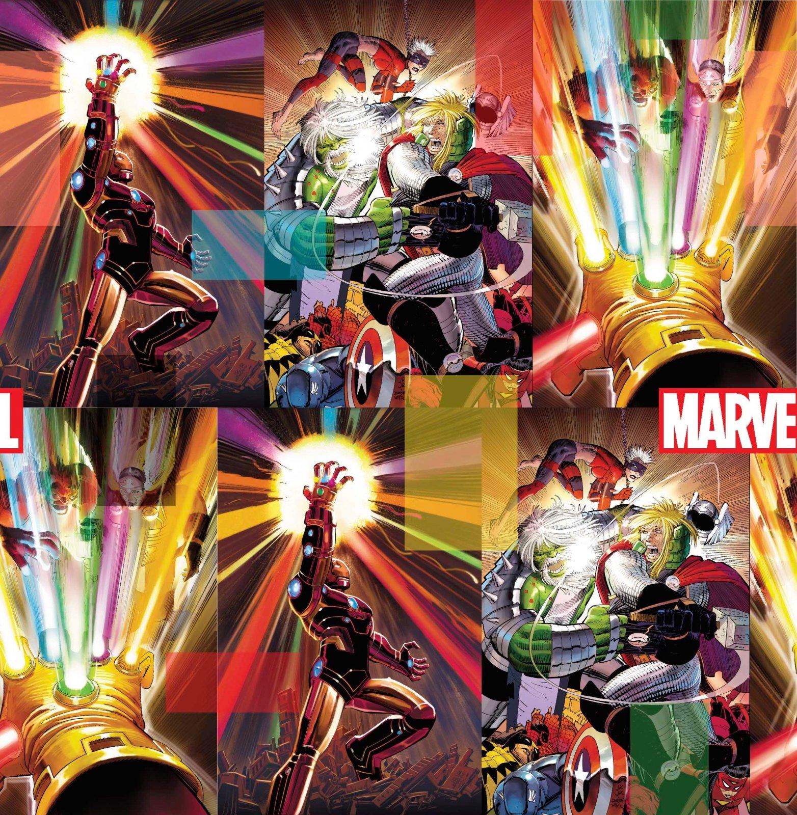 PROMO* SC-Marvel Avengers Digital 70999-A620715 Marvel Energy