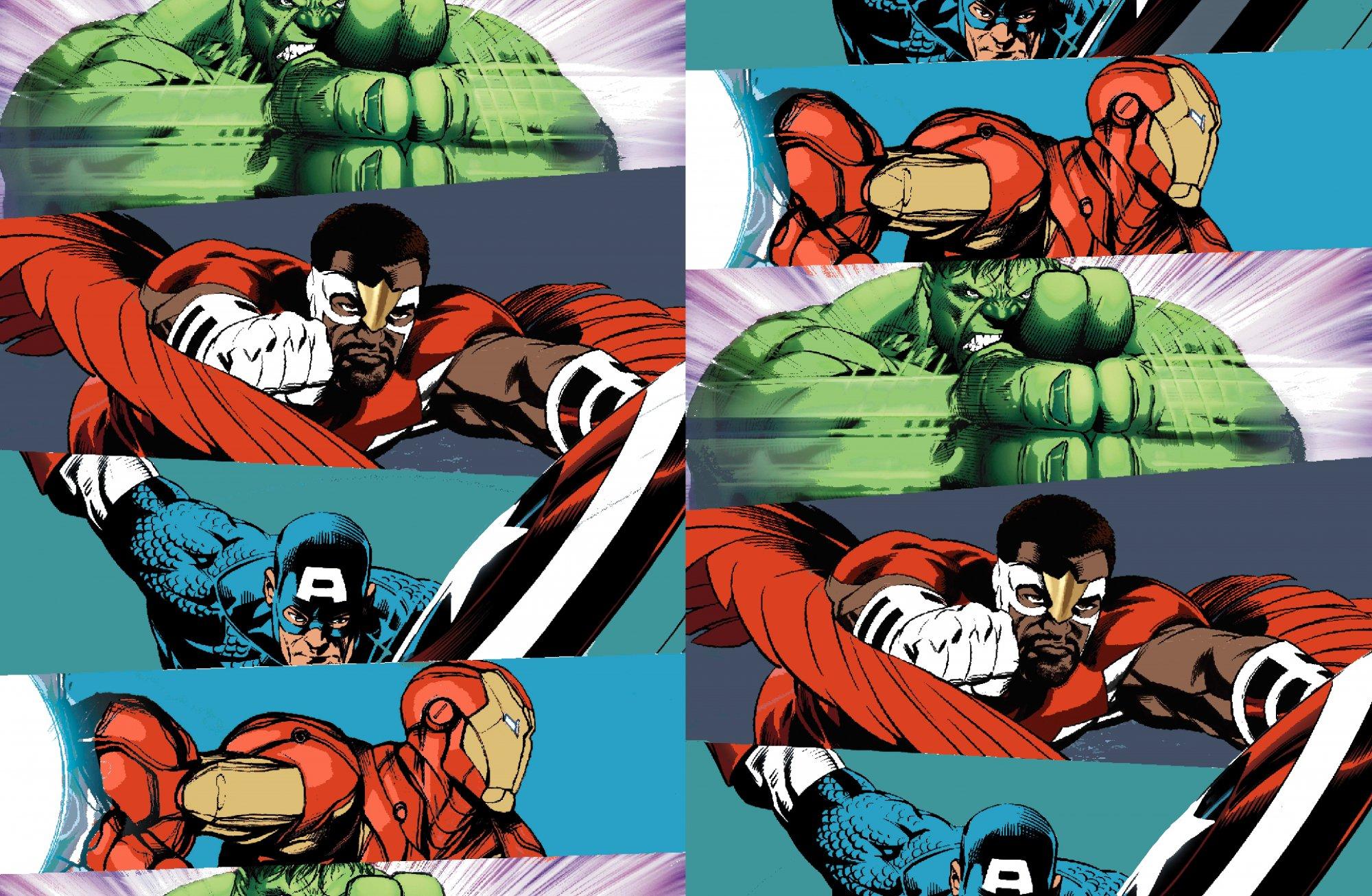 SC-Marvel Avengers Fleece 71012-A620710 Marvel Super Heroes