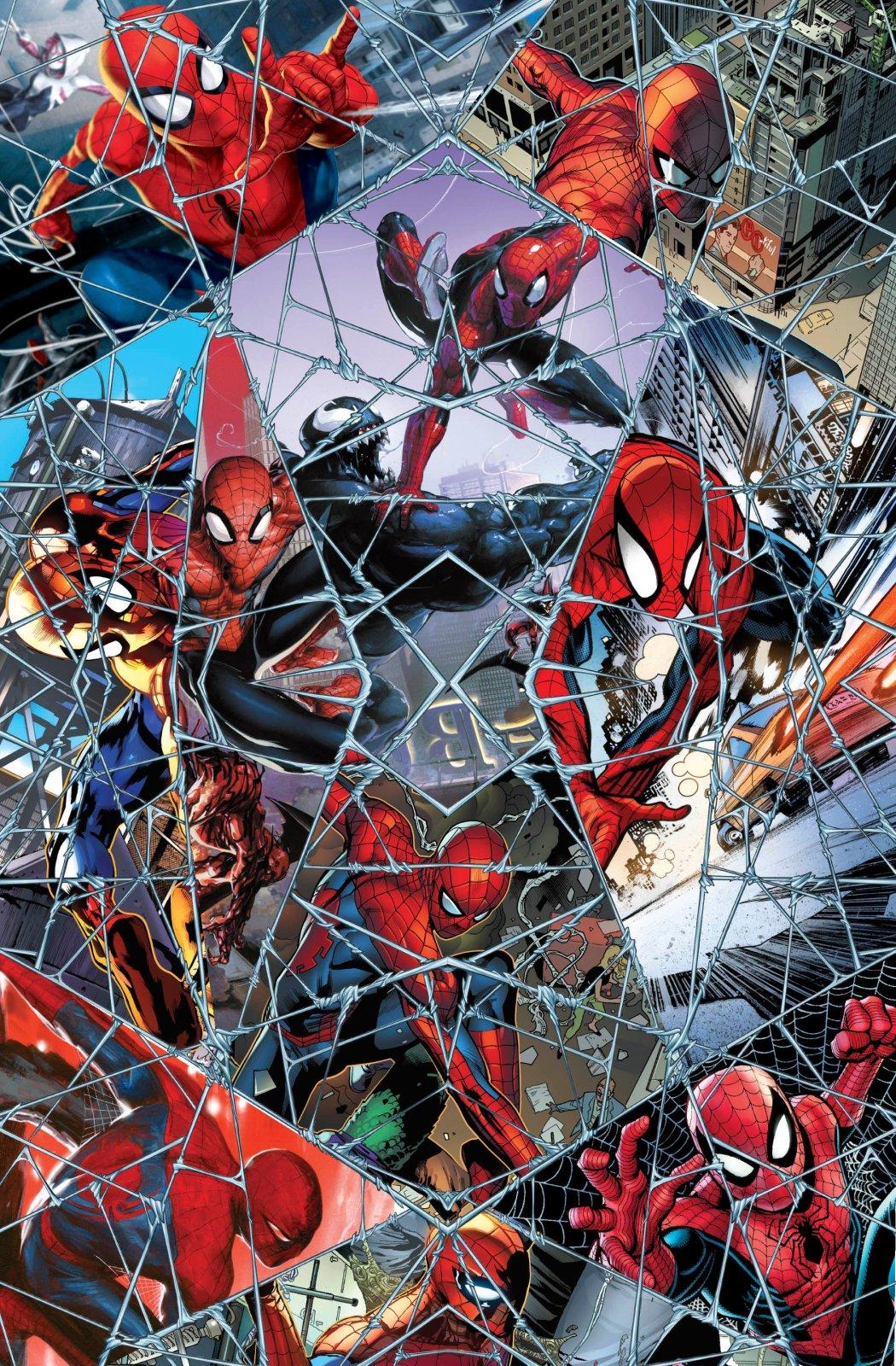 PROMO* SC-Marvel Spiderman Digital 71189-A620715 Marvel Spiderman Comic Web Mosaic