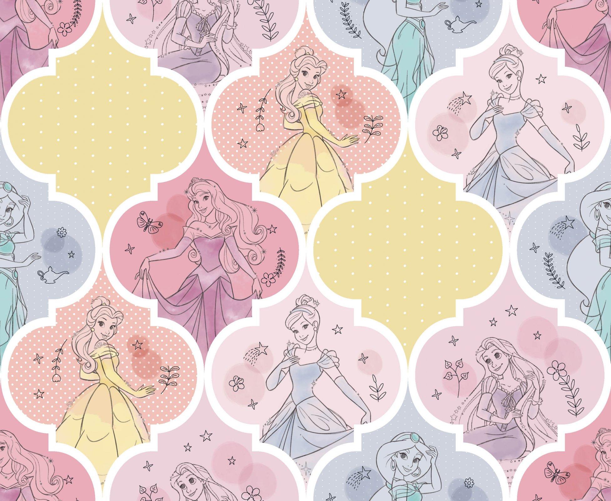 PROMO* SC-Disney Princess 71441 Pretty Princess Patch