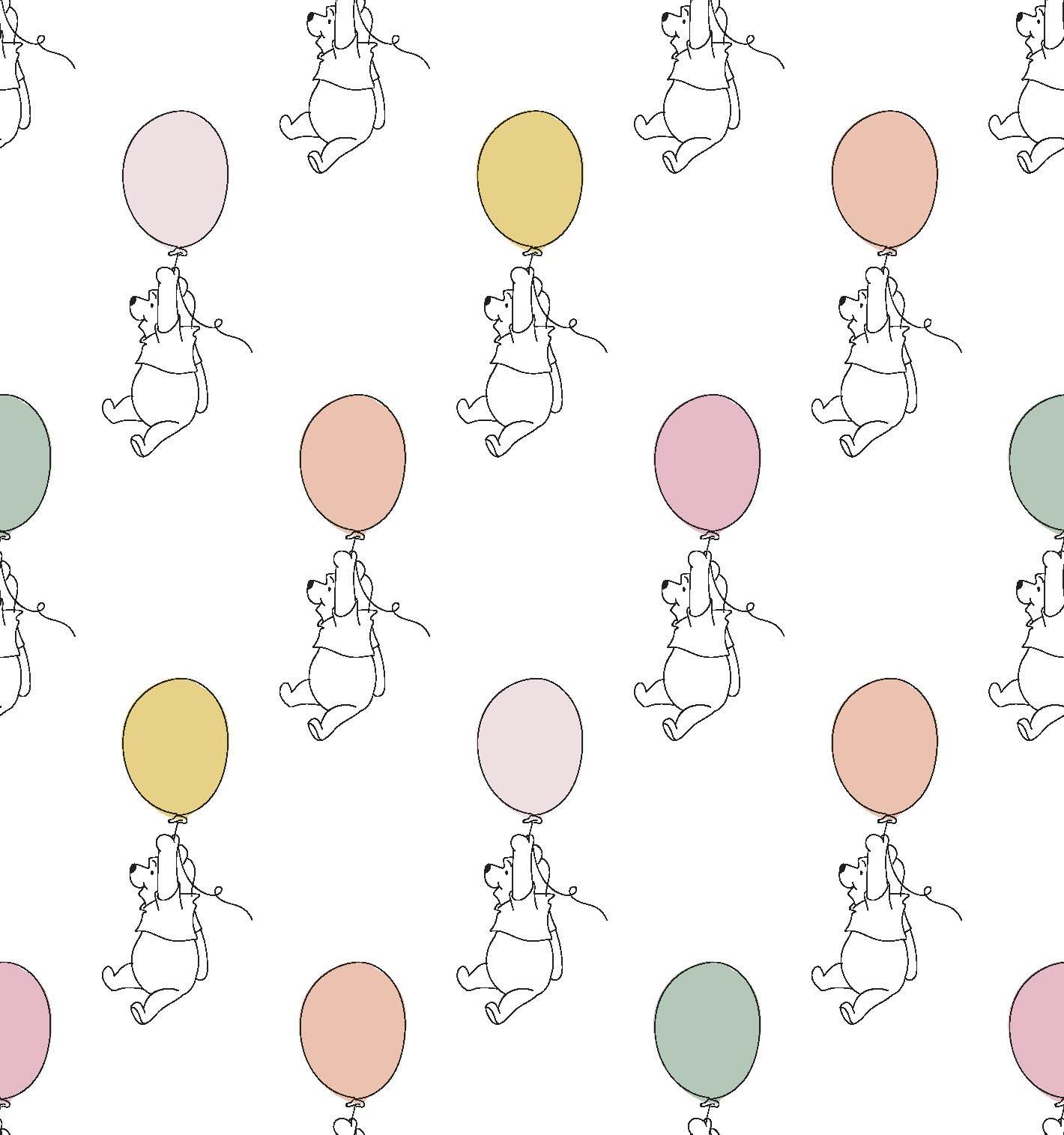 SC-Disney Pooh Nursery 72976 Pooh Balloon