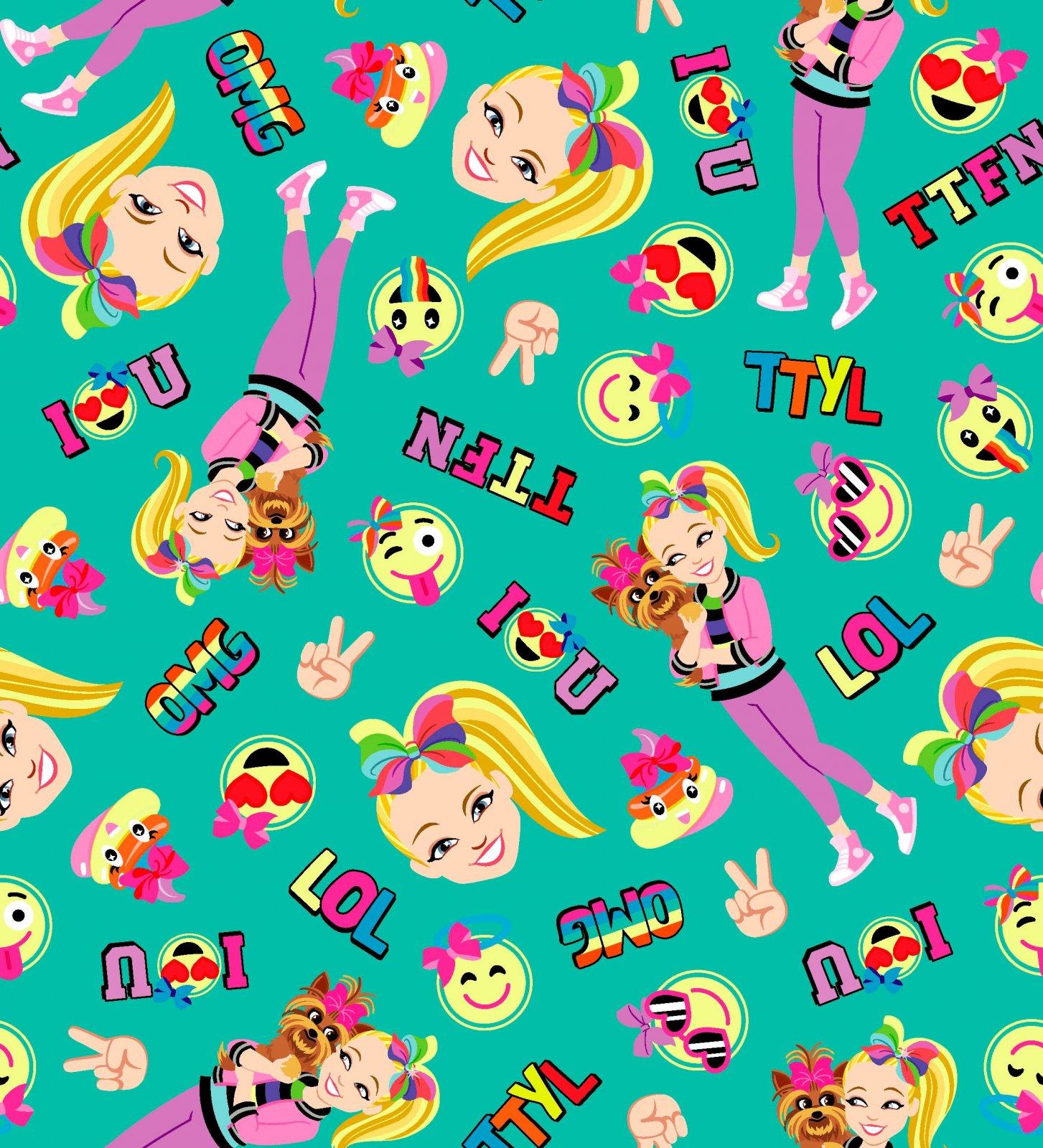 PROMO* SC-Nickelodeon 73306-A620715 JoJo Bow Bow Emoji Friends