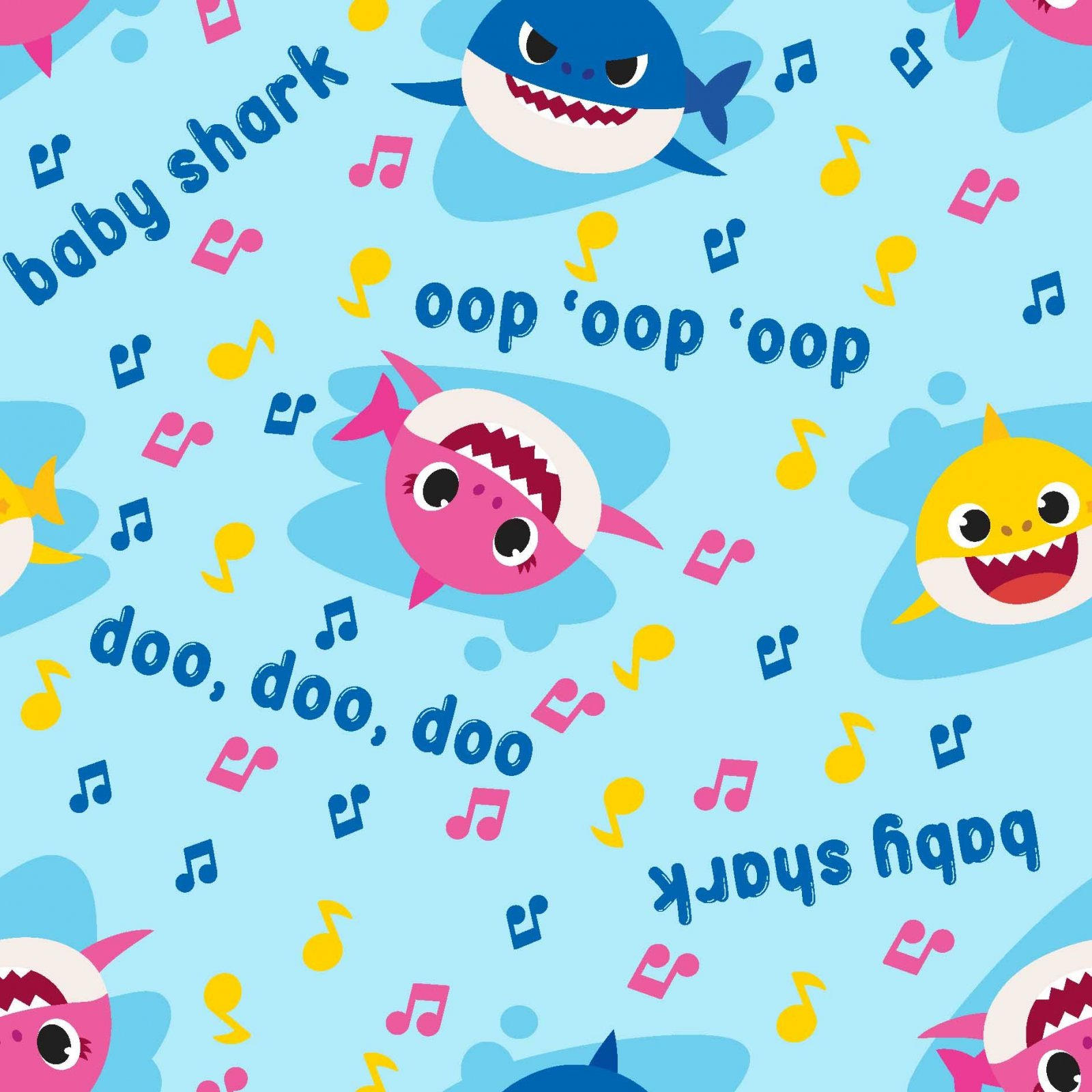 SC-Nickelodeon 73757-1600715 Baby Shark Music Toss