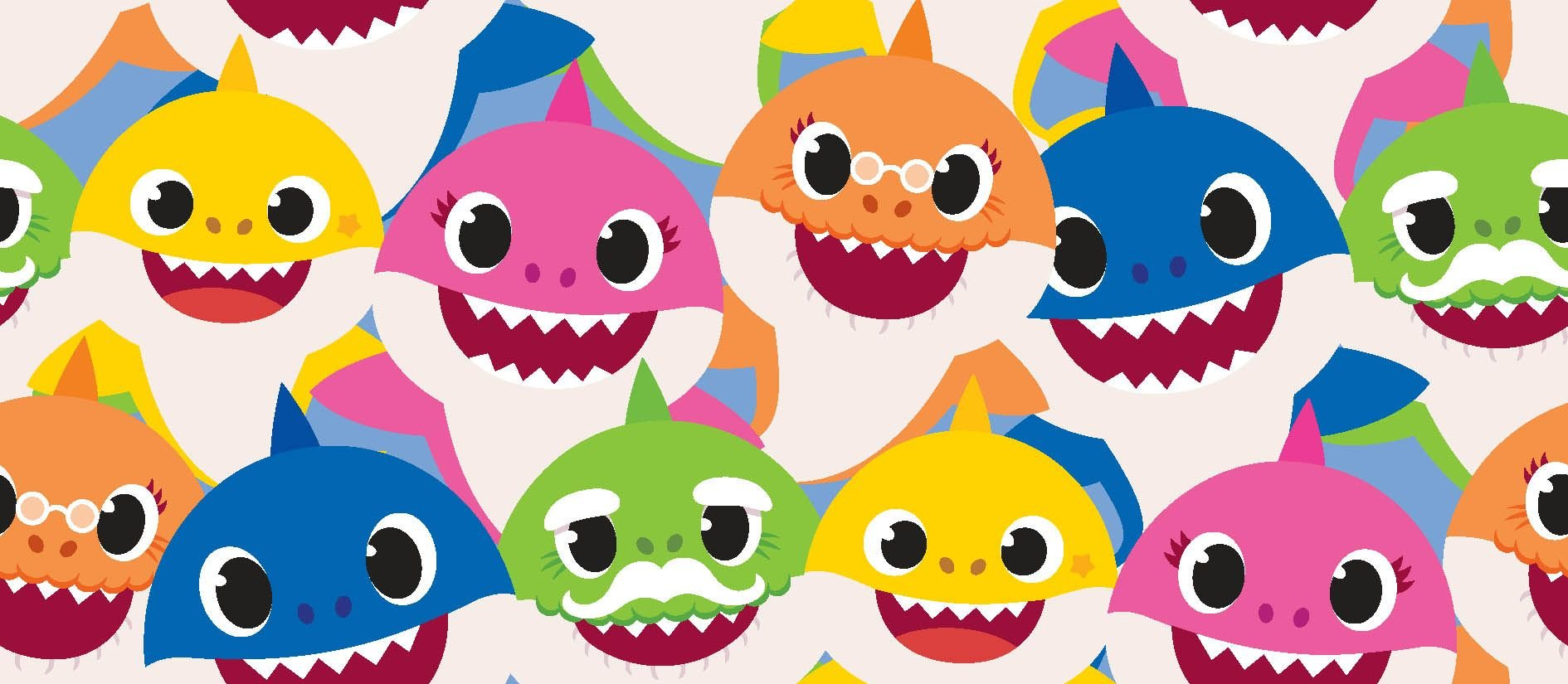 SC-Nickelodeon 73760-A620715 Baby Shark Family Packed