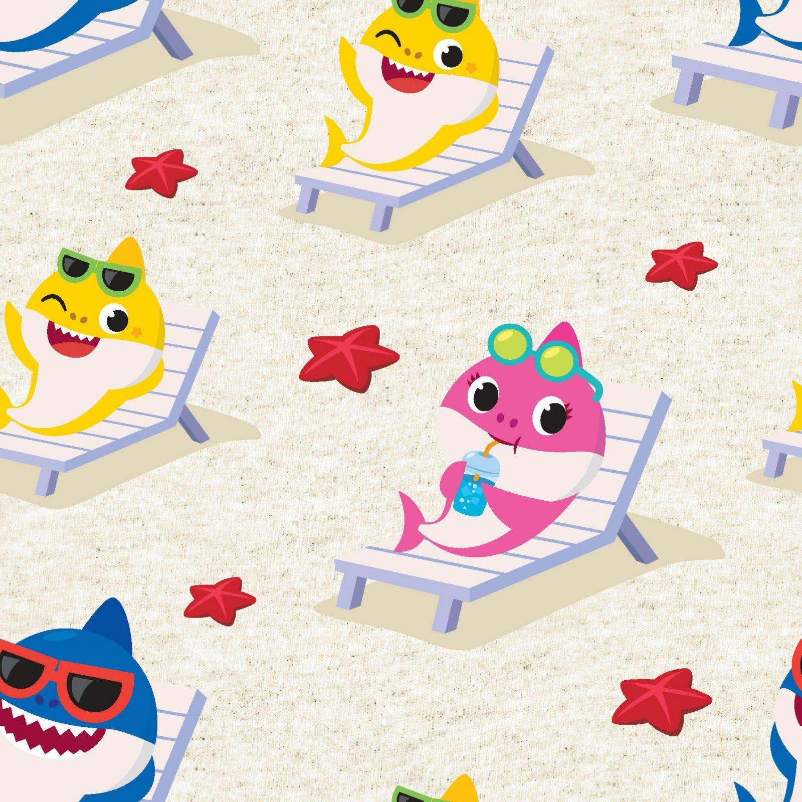 SC-Nickelodeon 73762-J370715 Baby Shark Starfish Beach