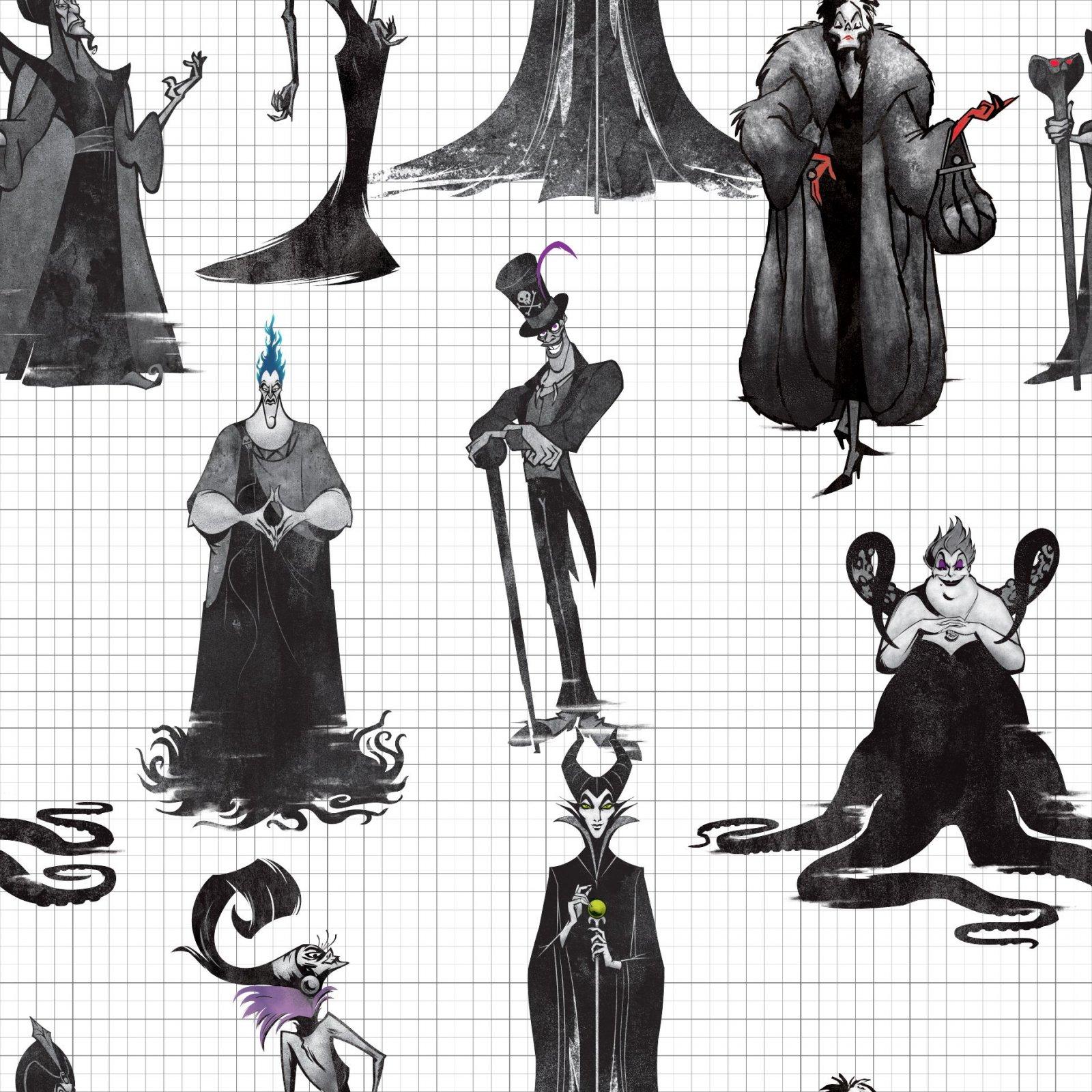 SC-Disney Villains 74090-A620715 Villains Shadows