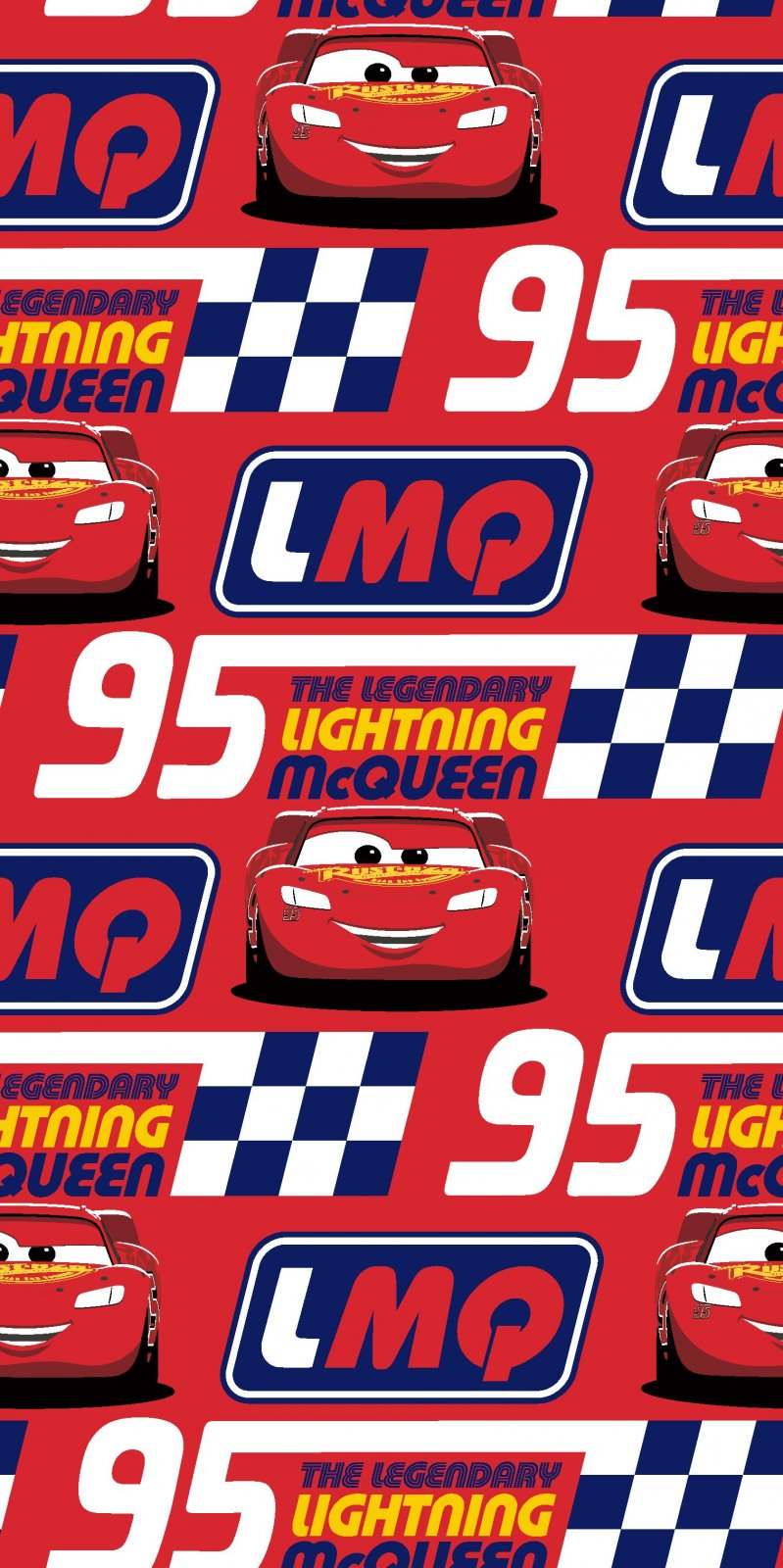 SC-Disney Pixar Cars 74420-A620715 Legendary McQueen