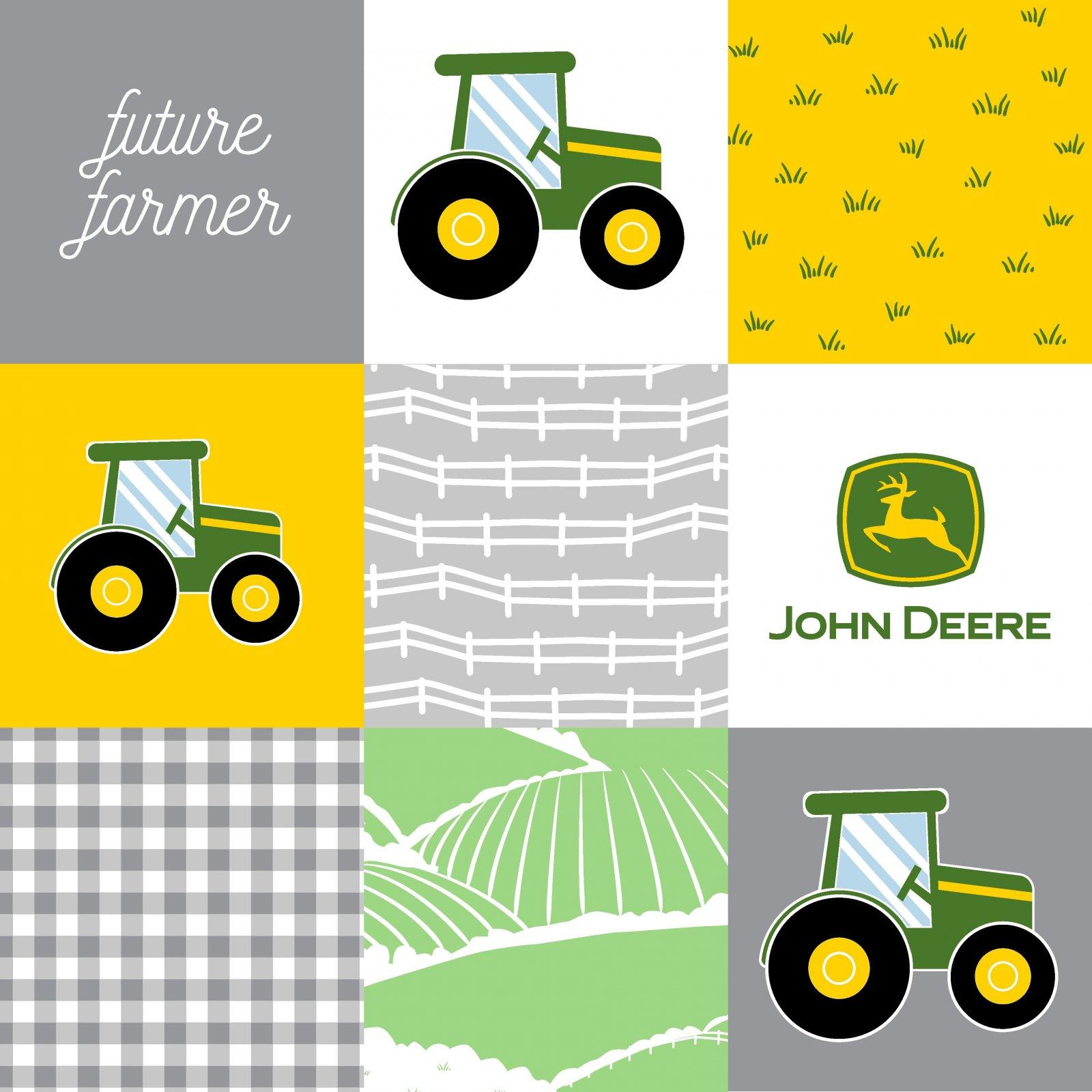 SC-John Deere 76482-A620715 John Deere Patchwork