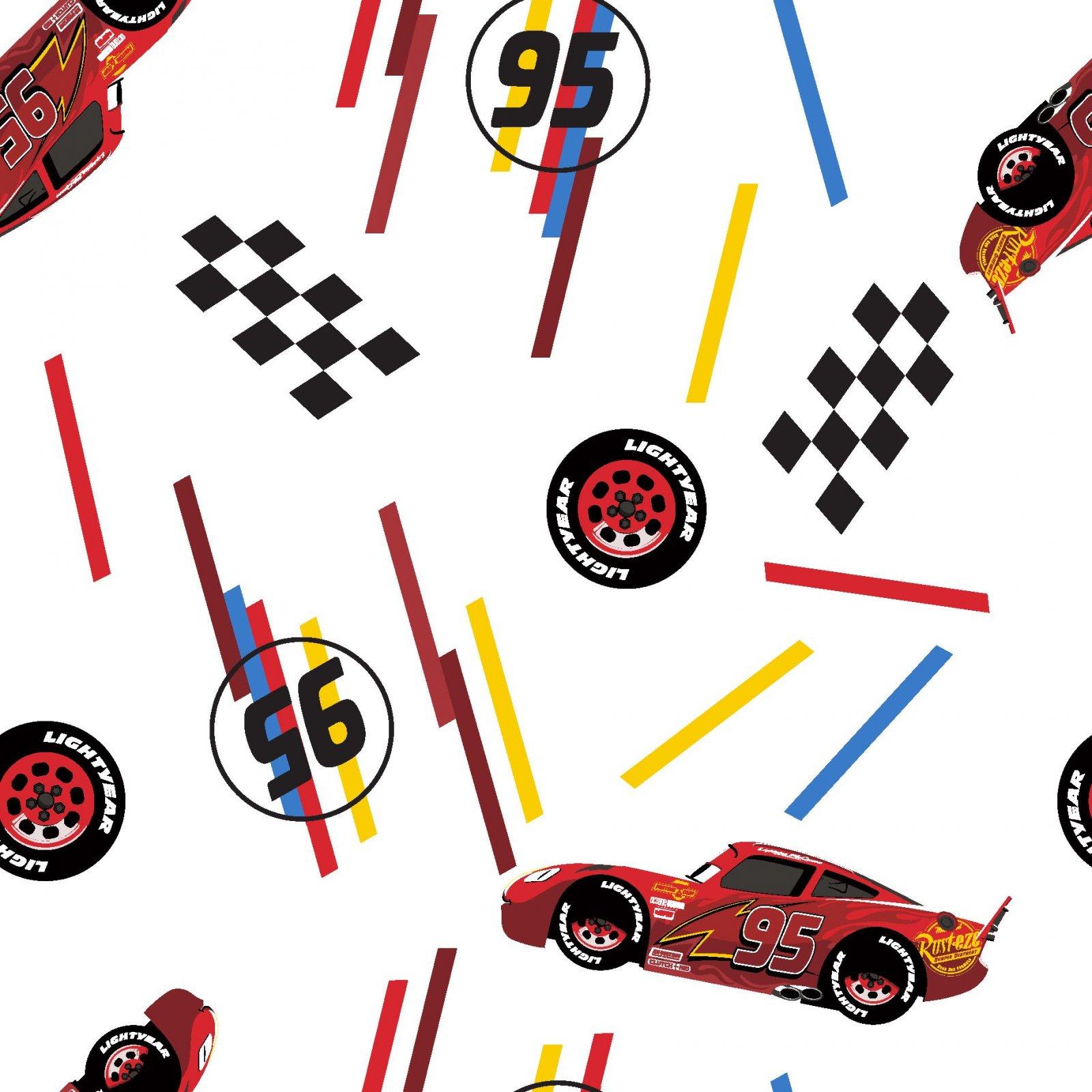 SC-Disney Pixar Cars 76824-A620715 McQueen Tires Toss