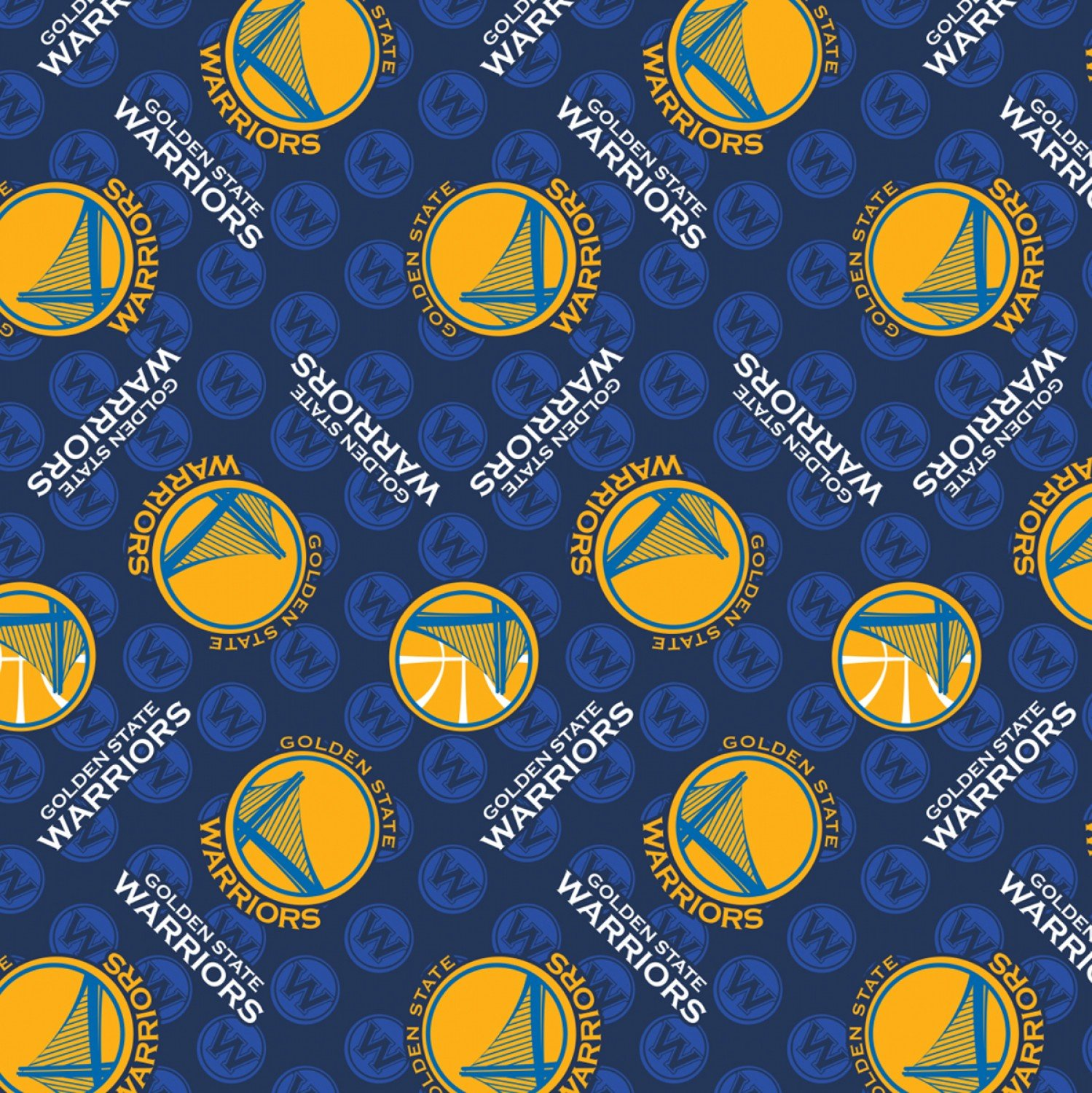 CF-NBA 83GSW0002A WARRIORS Fleece