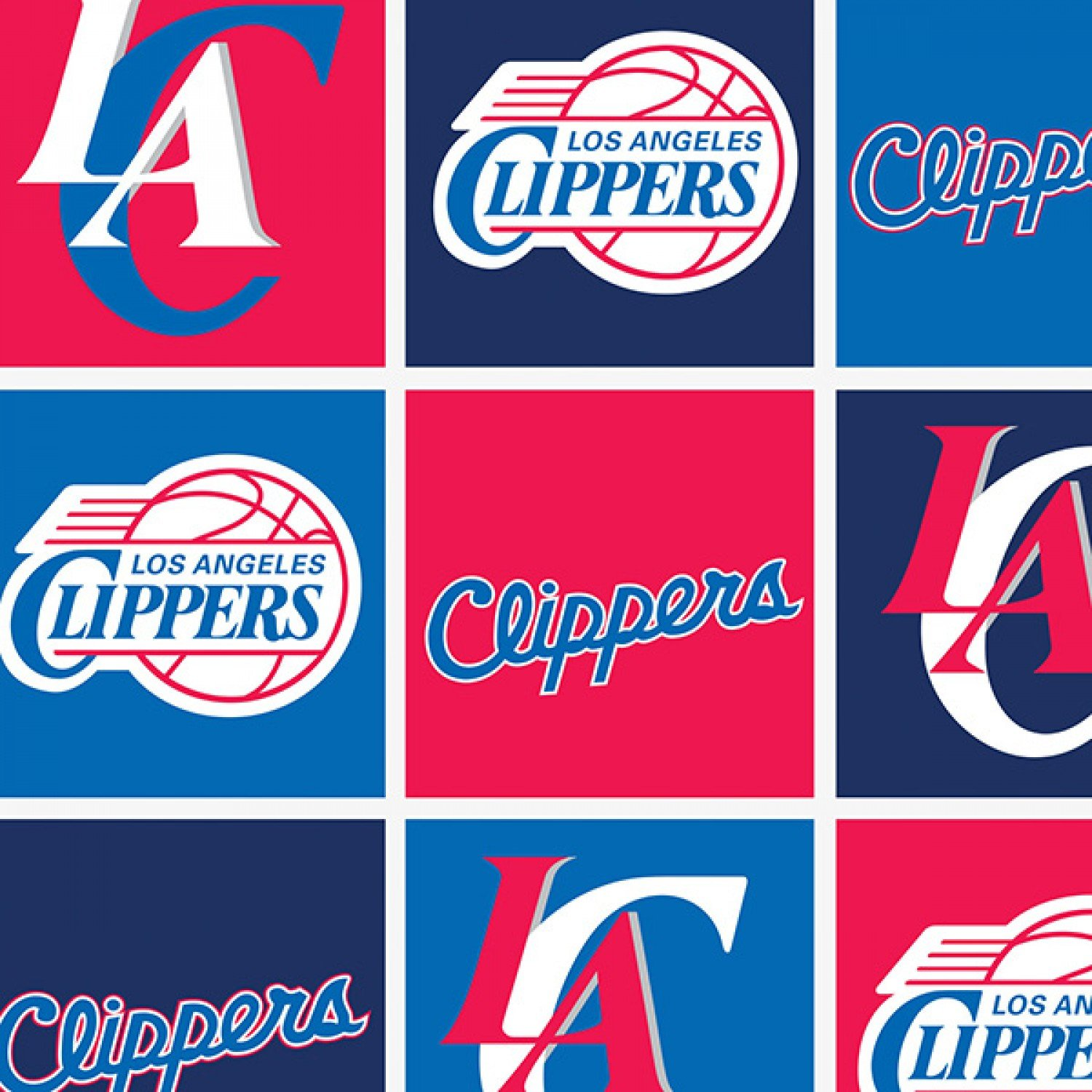 CF-NBA 83LAC0006A Los Angeles Clippers - Fleece