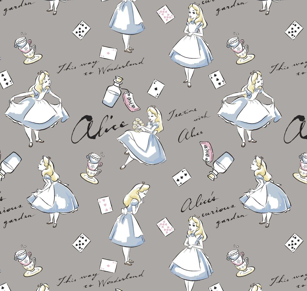 CF-Disney Cotton 85020001-01 Alice in Wonderland