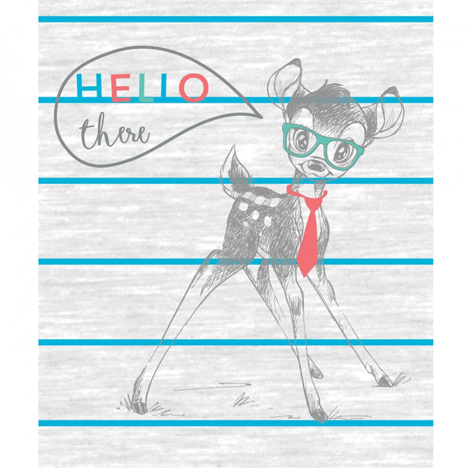 CF-Disney Dress to Impress Collection 85040205P-01 Multi - Bambi Hello There Panel