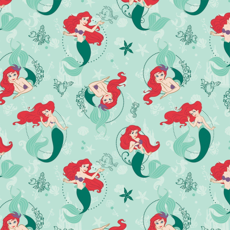 CF-Disney Cotton 85100111-01 Ariel - The Little Mermaid